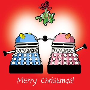 CANX26 – Happy Christmas Card Dalek